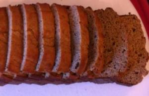Grain free banana bread sliced2