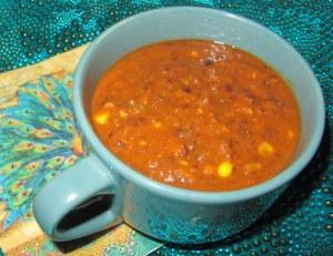 rainy day black bean soup 2
