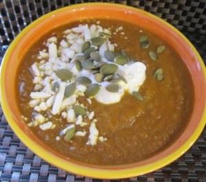 pumpkin carrot soup4