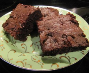 mocha cherry brownies2